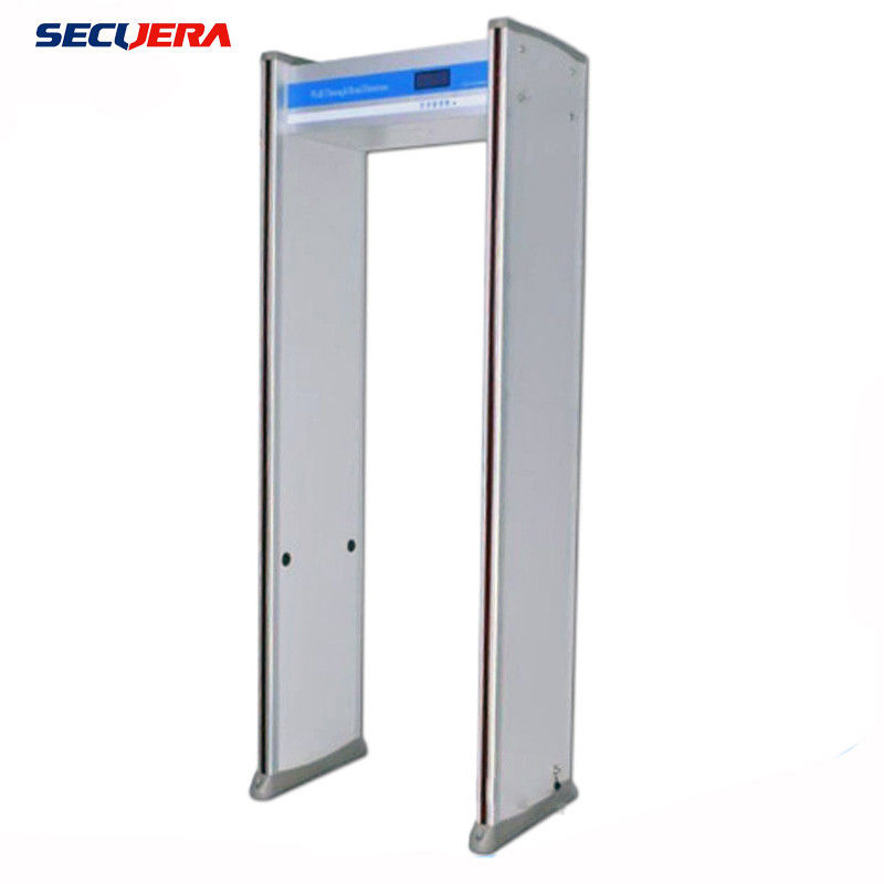 Smart Check door frame metal detector walk through metal detector portable 33 zones security gate